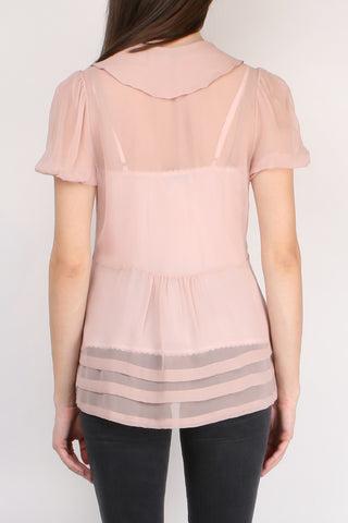 Hariette Georgette Top