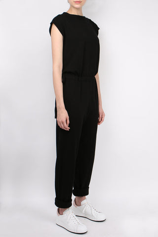 Cotton Knit Jumpsuit