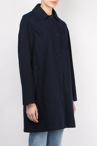 Indigo Denim Coat