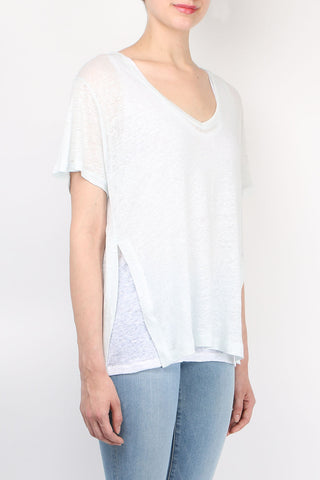 Linen Double Layer Tee