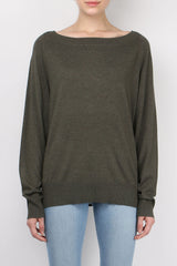 Relaxed Raglan Sweater