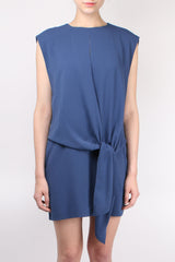 Savanna Crepe Tie Dress