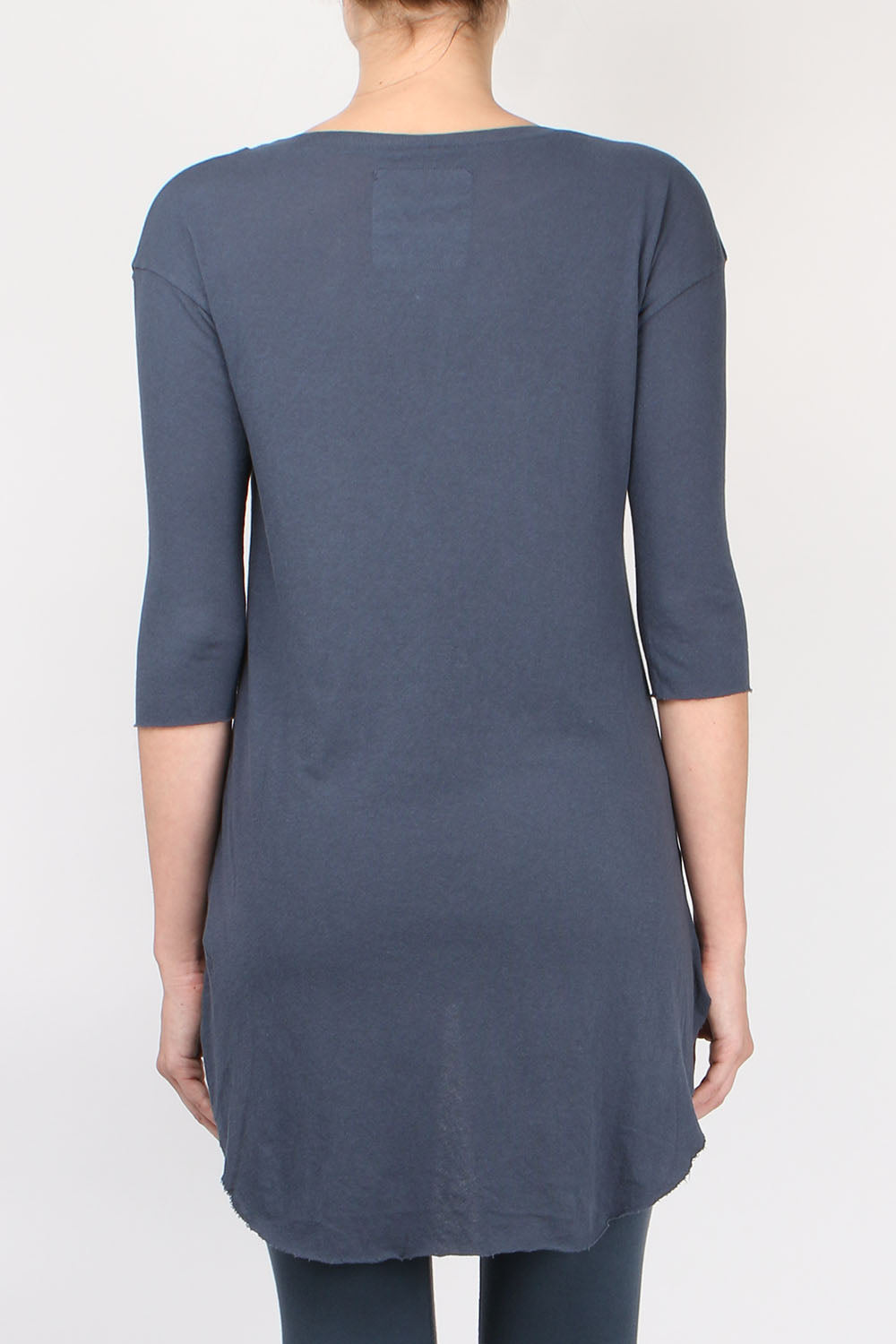 Tee Lab by Frank & Eileen Elbow Sleeve Shirttail Back