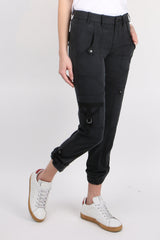 GoSilk Go Army Pants Washed Black