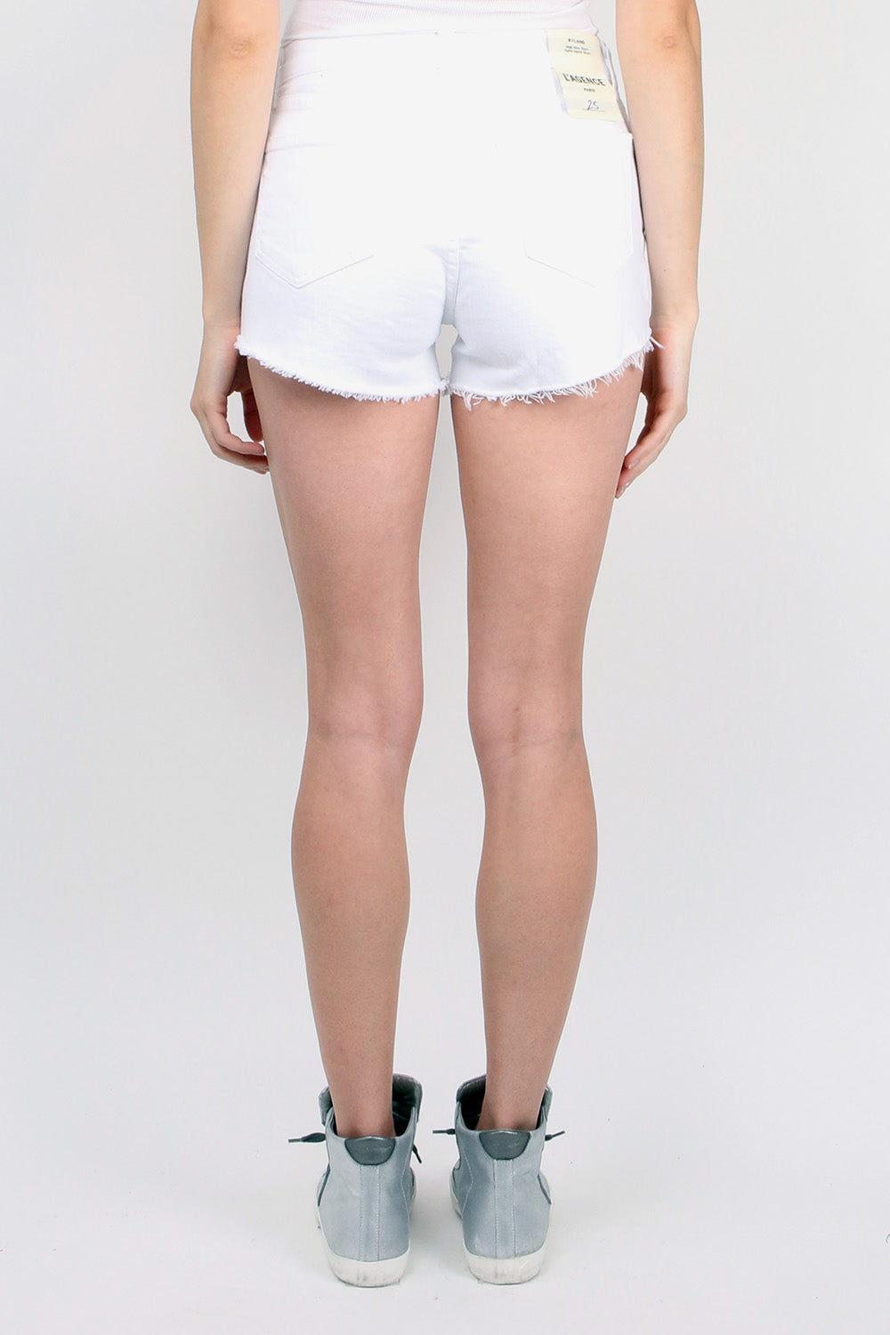 L'Agence Ryland Short in Blanc