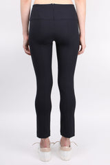 Veronica Beard Zip Back Scuba Pant