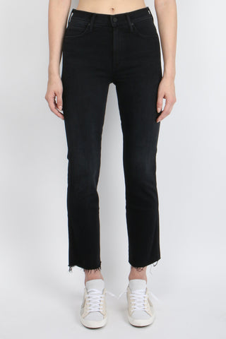 High Waisted Rascal Ankle Step Fray