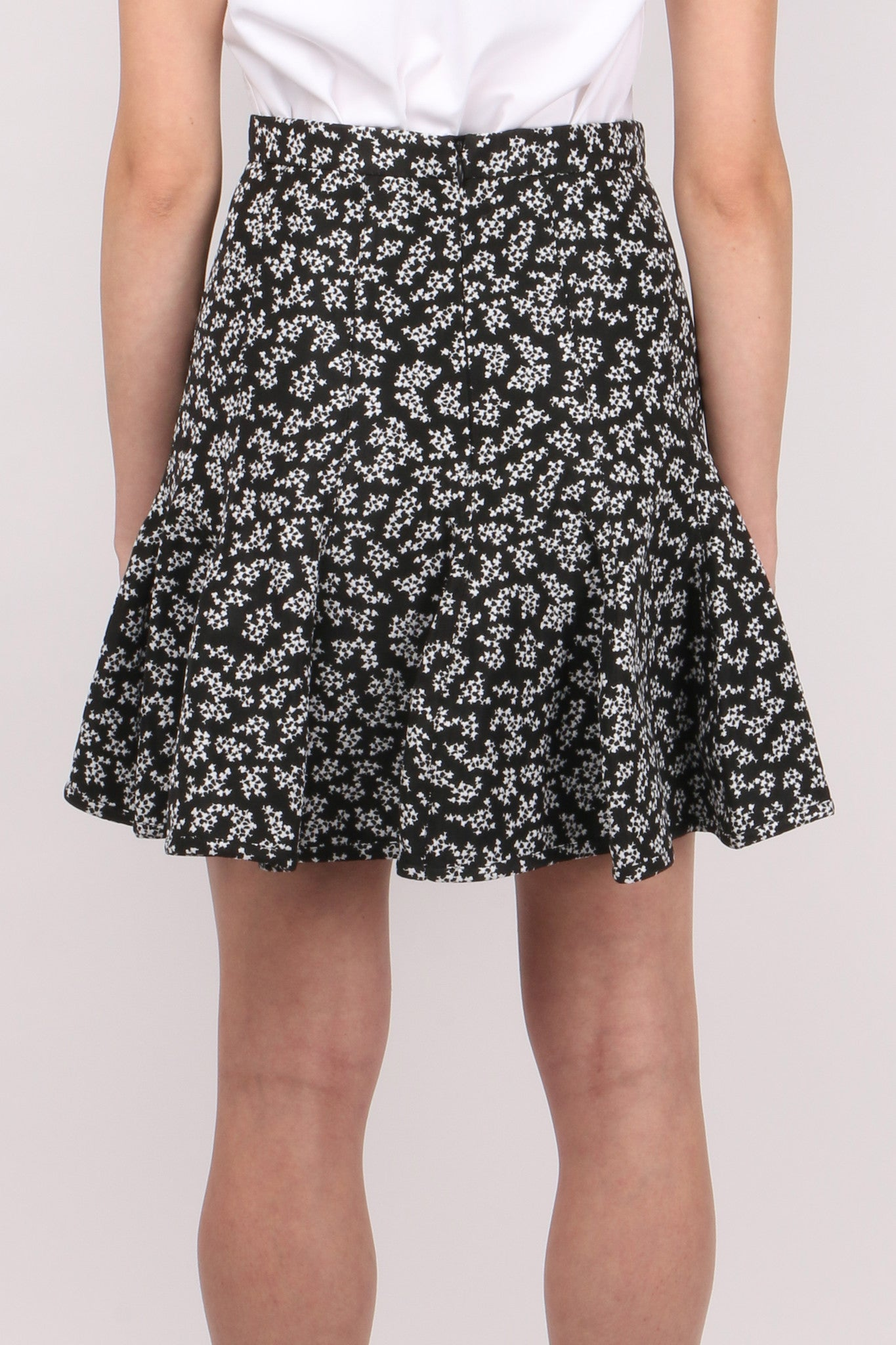 Carven Printed Jacquard Skirt