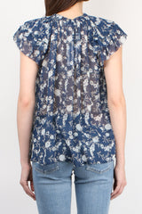 Ulla Johnson Rooney Top in Azure