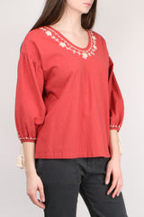 The Great Vineyard Tunic in Vintage Saffron