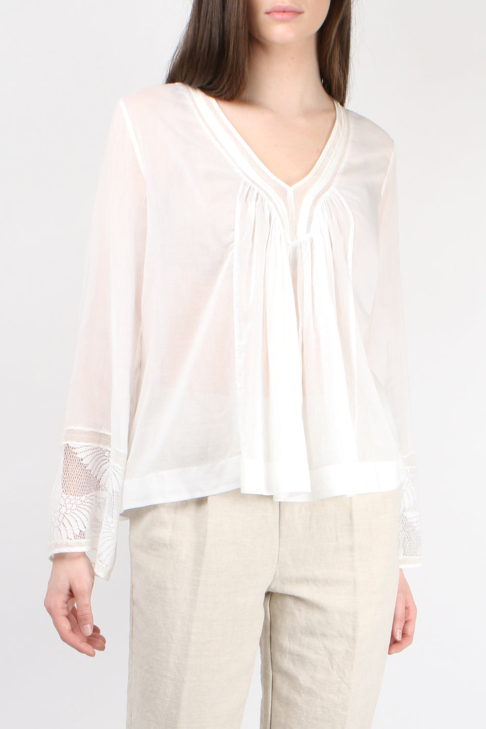 Forte Forte Voile Bohemian Top