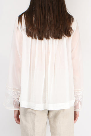 Voile Bohemian Top