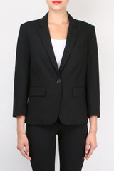 Veronica Beard Schoolboy Jacket Black