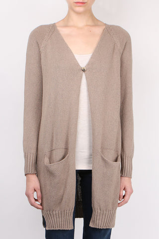Long Seamless Cardigan
