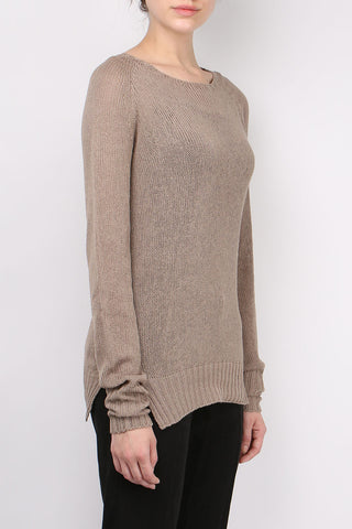 Seamless Round Neck Knit