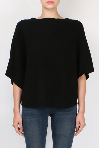 Paychi Guh Tri Panel Pullover Black