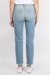 Frame Denim Le Boy Raw Edge Voss