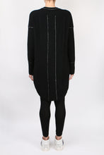 Load image into Gallery viewer, Paychi Guh Sweater Dress Black
