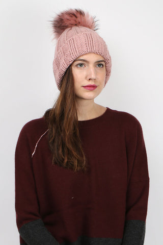 Double Ply Ribbed Beanie
