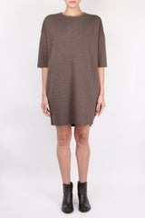 Ma'ry'ya Knit Dress Tortora