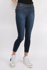 L'Agence Margot High Rise Skinny Prime Blue Vintage