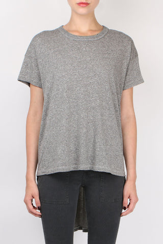 The Great The Shirttail Tee Heather Grey