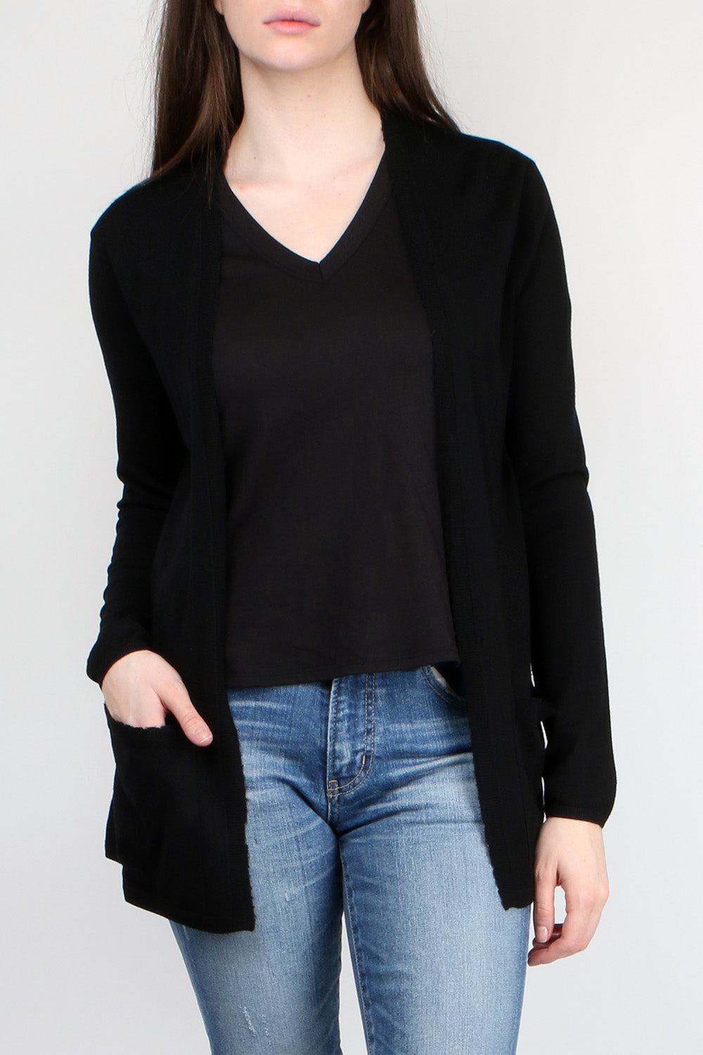 Open Cardi with Pockets
