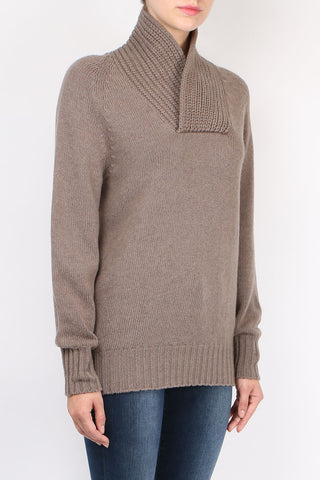 Neck Detail Sweater