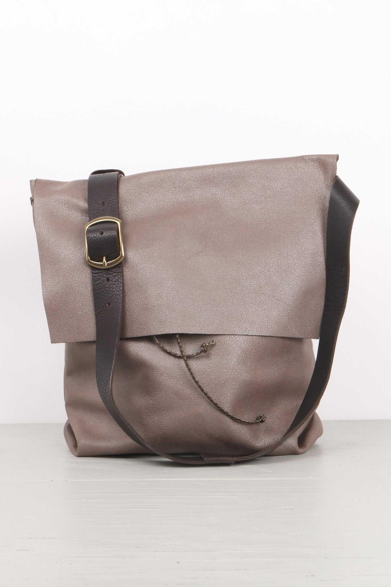 Stitch and Tickle Large Bolsa Elephant Grey