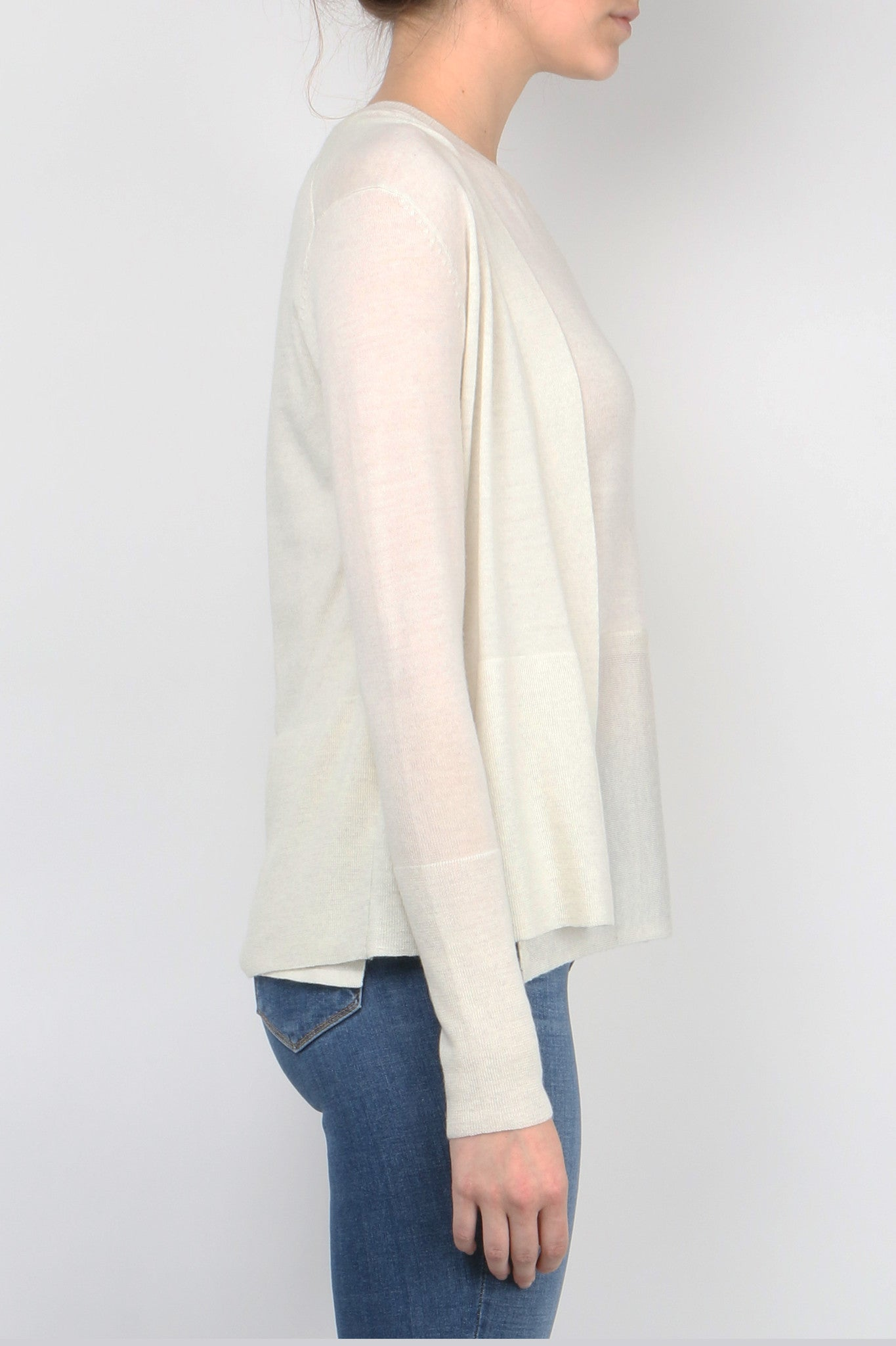 V-Neck Cardi Twinset side