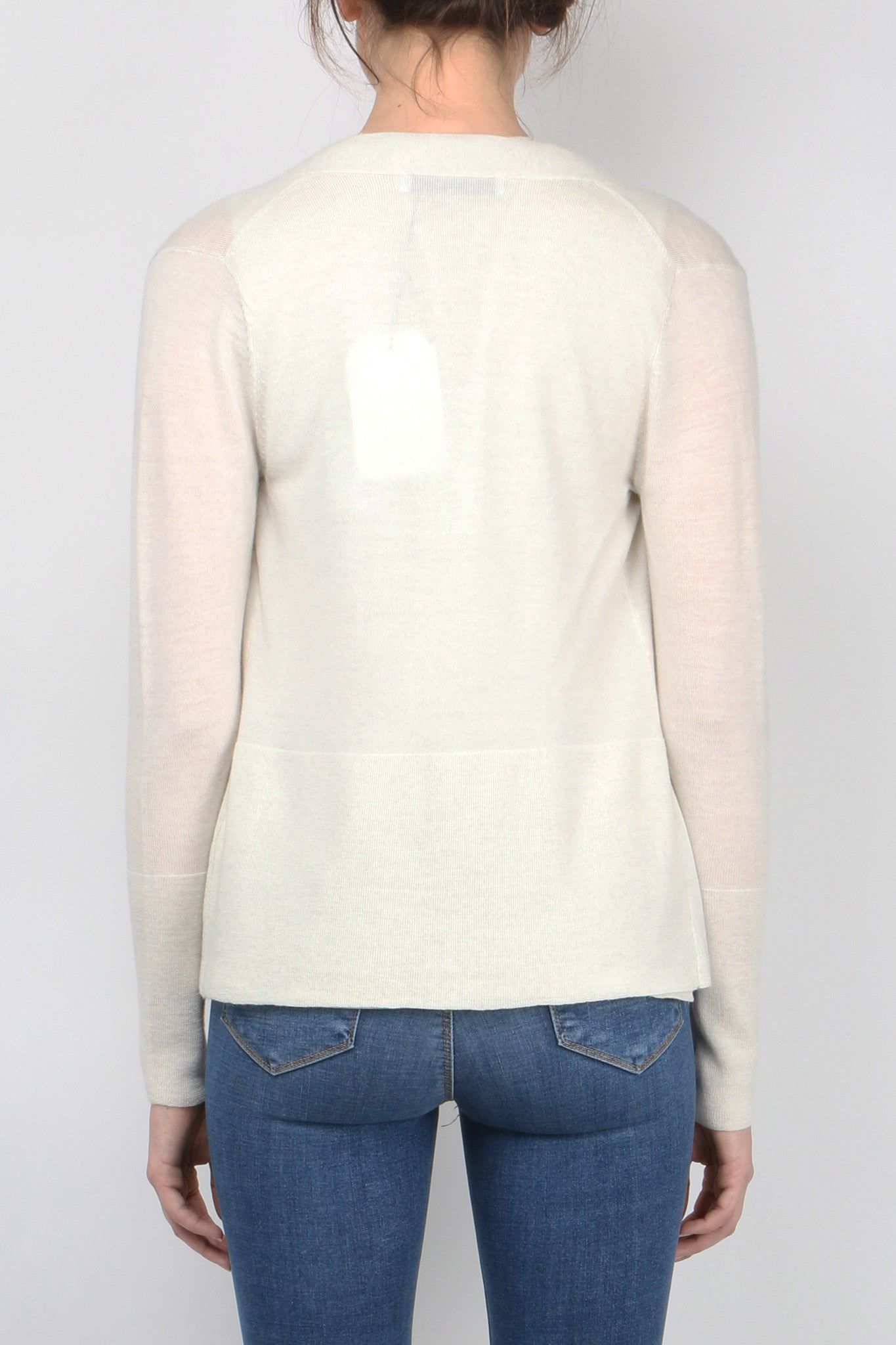 V-Neck Cardi Twinset back