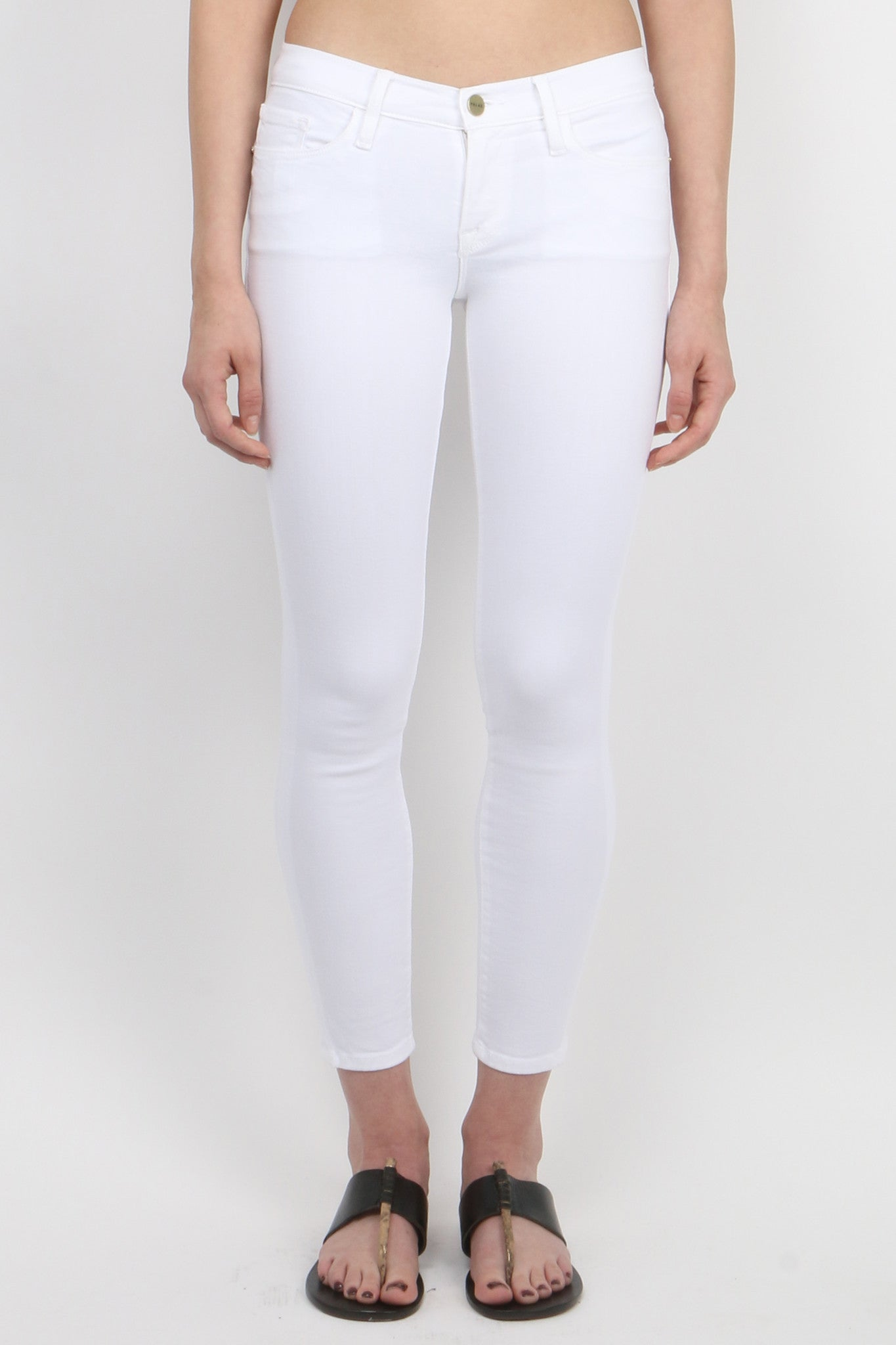 Le Color Crop Blanc