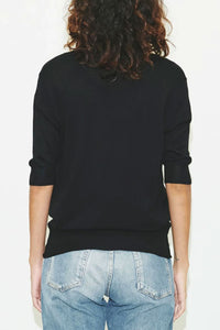 Elbow Slv V Sweater