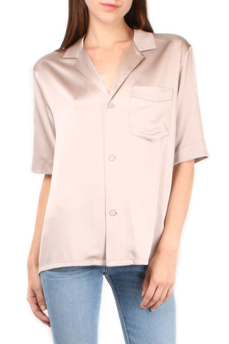 Pink Short Sleeve PJ Top