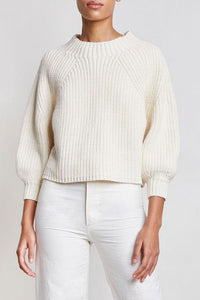 Merel Funnel Cream Sweater