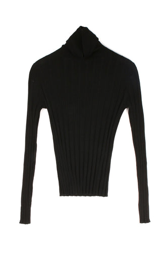 Turtleneck Black Knit