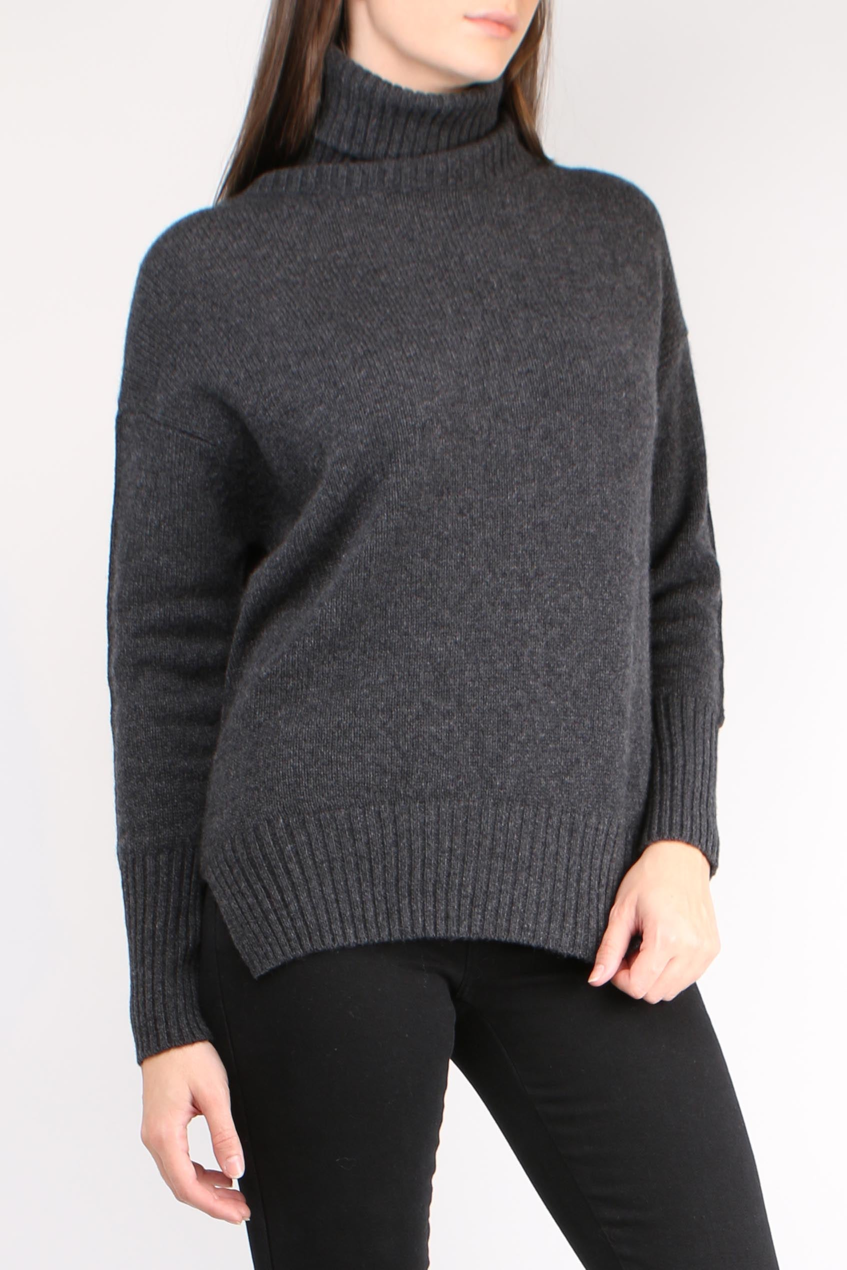 Slouchy Turtleneck