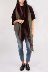 Double Fox Fur Scarf