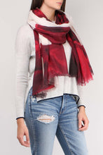 Load image into Gallery viewer, Rosalie Wine Scarf