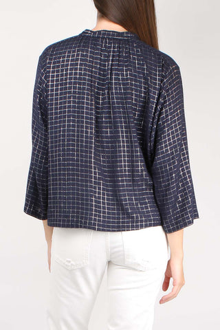 Shirred Agata Top