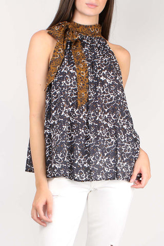Medina Tie Neck Top