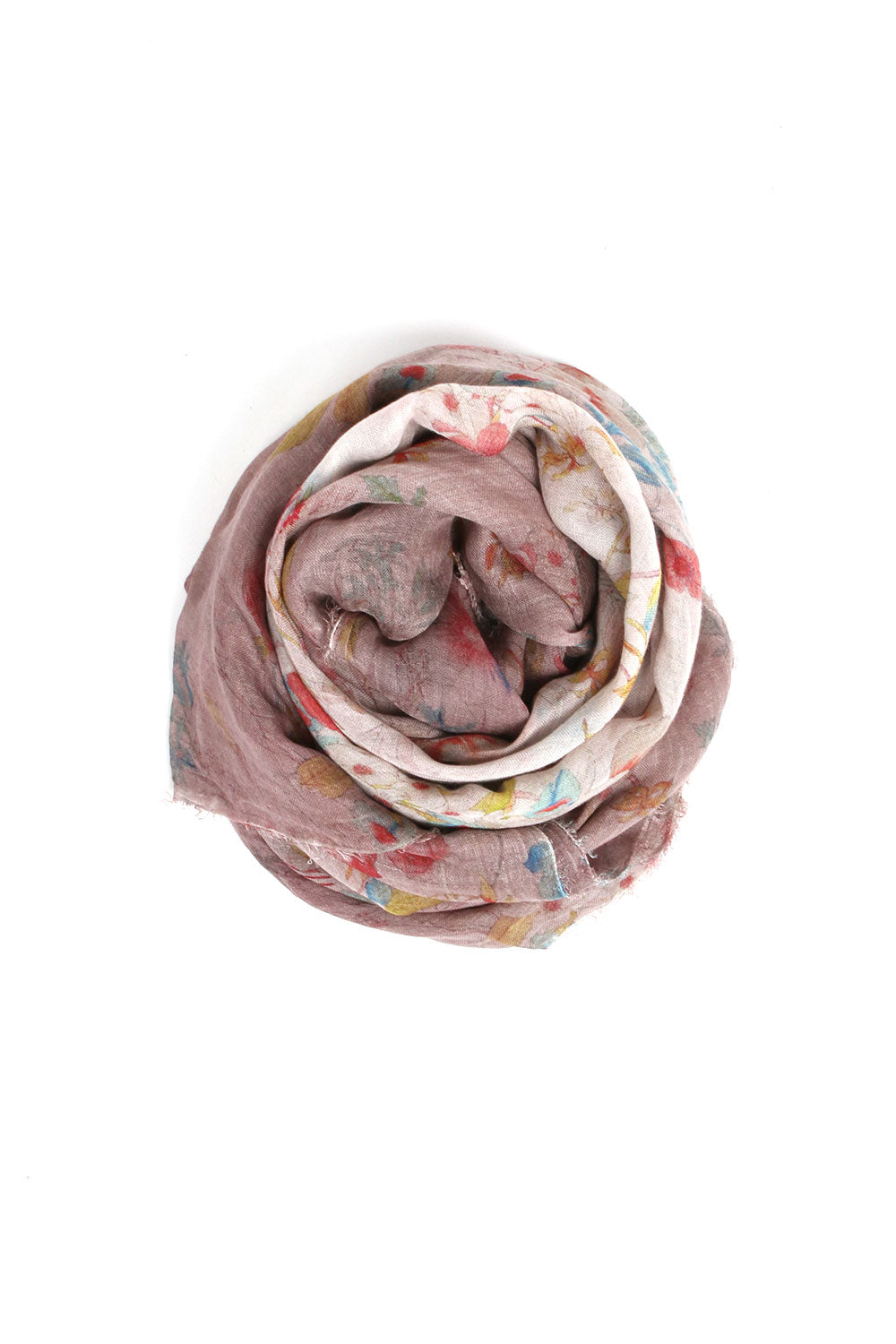 Flower Rose Scarf With Shadows