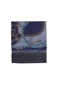 One Of A Kind Navy Scarf