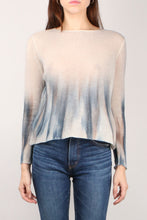 Load image into Gallery viewer, Ombre Blue & Cream Sweater