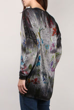 Load image into Gallery viewer, Long Floral Cardigan