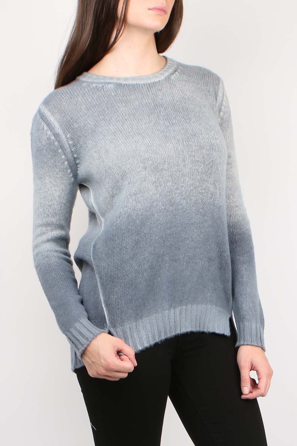 Off Gauge Pullover W/ Splits