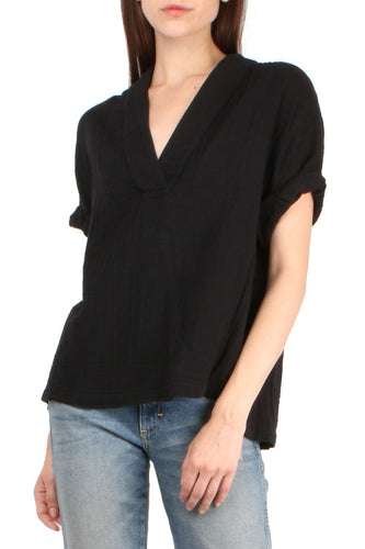 Avery Top Black