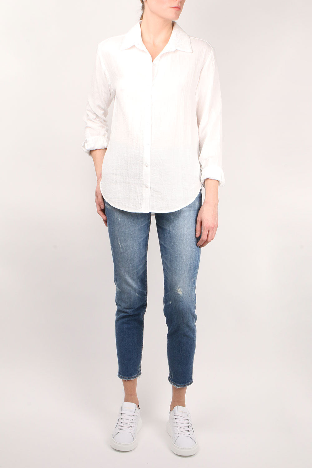 Bleecker White Shirt