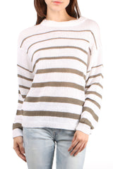 Reed Stripe Pullover