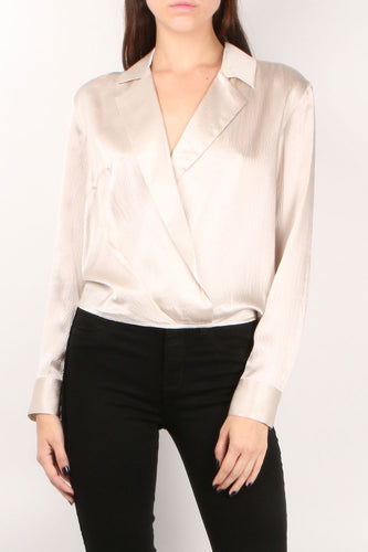 Mayes Wrap Top